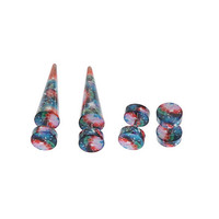 Nebula Faux Plug And Taper 4 Pack   Hot Topic