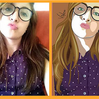 Custom Vector Cartoon Caricature / Avatar - Personalised Gift - Caricature From Your Photo's - Digitally Delivered