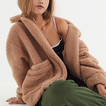 I.AM.GIA + UO Pixie Coat   Urban Outfitters