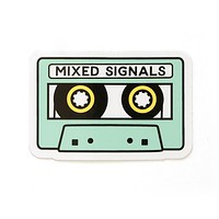 Mixed signals stickers
