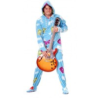 Buy KISS Cold Gin Adult Onesuits PJ's | World's Best Pajama Store