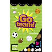 ConsumerCrafts Product Kids Sticker Book: Go Team! Sports Stickers