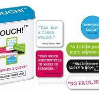 OUCH! QUOTES  QUIPS BANDAGES