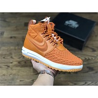 Nike Lunar Force 1 Duckboot orange Size 40-47
