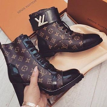 Louis Vuitton LV short boots