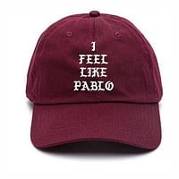 I Feel Like Pablo Baseball Hat Kanye West The Life Of Pablo Merch Yeezy Season 3 Yeezu
