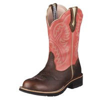 Ariat Women's Showbaby Boots - Brown Oiled Rowdy - 10001205