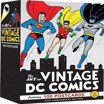 The Art of Vintage DC Comics (Anniversary) (75TH ed.)