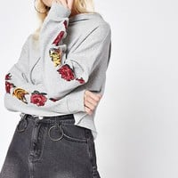 LA Hearts Flower Tiger Embroidered Hoodie at PacSun.com