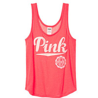 Double Scoop Tank - PINK - Victoria's Secret