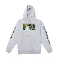 Eze Smoke Pullover Hoodie Grey