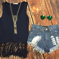 Lead the Pack Fringe Tank