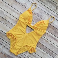 Stella Ruffle Detail One Piece
