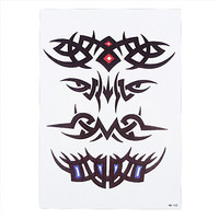 Tribal all-in-one Temporary Tattoo - Butterflies Temporary Black large  Tattoo Body Art Stickers for Men and Women fake tattoos
