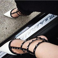(Valentino) Ankle high heel shoes