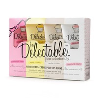 be Delectable from Cake Beauty 4-pc. Assorted Hand Cream Gift Set