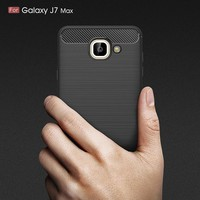 Effelon Case For Samsung J7 Max Brushed Drawing Silicone Cover Cases For Case Samsung Galaxy J7 Max Mobile Phone Shell Coque