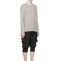 Indie Designs Balmain Inspired Double Layer Cargo Shorts