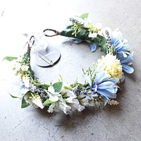 Final Sale - Rock N Rose - Cambridge Handmade Floral Meadow Crown Headband