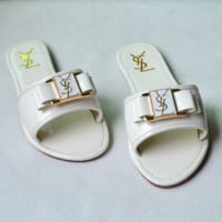 YSL Casual Fashion Women Sandal Slipper Shoes