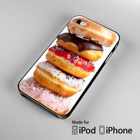donuts iPhone 4S 5S 5C 6 6Plus, iPod 4 5, LG G2 G3, Sony Z2 Case
