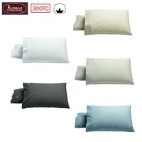 300TC Heston Cotton Percale Standard Pillowcases by Bianca