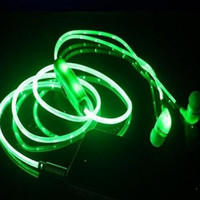 Light Up Earphone Headphones Earbuds