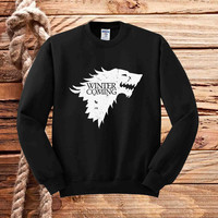WINTER IS COMING sweater unisex adults