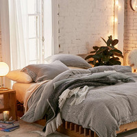 Cassia Embroidered Duvet Cover - Urban Outfitters