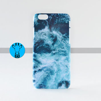 Blue Ocean Pattern Hard iPhone 6 Case Phone Cool design