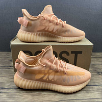 Morechoice Tuhl Adidas Yeezy Boost 350 V2 Mono Clay Hollow Running Shoes Low Sneaker Breathable Jogging Shoes Gw2870