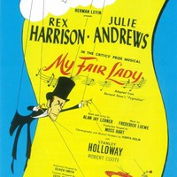 My Fair Lady 14x22 Broadway Show Poster (1956)