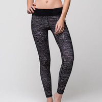 FULL TILT SPORT Scale Print Womens Skinny Pants | Leggings