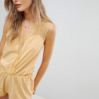 Icone Ambre Romper at asos.com