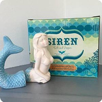 Mermaid Siren Salt & Pepper Shakers