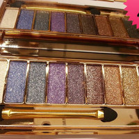 9 Colors Colorful Urban Makeup Eye Shadow Palette Set