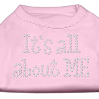 It's All About Me Rhinestone Shirts Light Pink S (10)