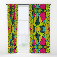 Color glass Window Curtains by edrawings38