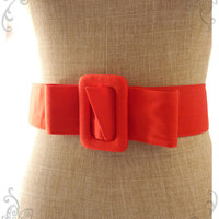 Fabric Belt - Red