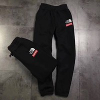 Supreme&The North Face Women Men Lover Casual Sport Pants Trousers Sweatpants