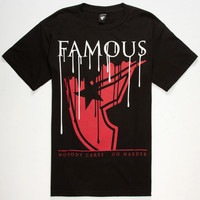 Famous Stars & Straps Down Pour Mens T-Shirt Black  In Sizes