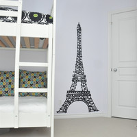 Large Paris Eiffel Tower Wall Decal