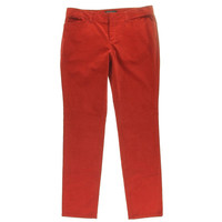 Theory Womens Kamilka Cotton Solid Corduroy Pants