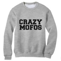Green Turtle - CRAZY MOFOS Sweatshirt