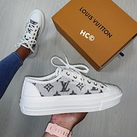 【Louis Vuitton】LV Low top tennis shoes
