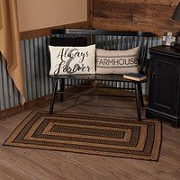Blackstone Farm Collection Jute Rugs - Rectangle