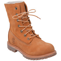Timberland Women's Teddy Fleece Tan Ankle Boot | Infinity Shoes