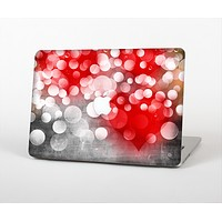 """The Bright Unfocused White & Red Love Dots Skin for the Apple MacBook Pro Retina 13"""""""