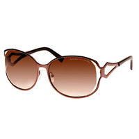 Armani Exchange Butterfly Sunglasses with Cutouts