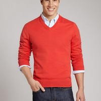 Tipping Point - Red - V-Neck